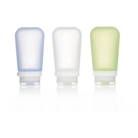 humangear GoToob 100ml 3-Pack transparent/green/blue